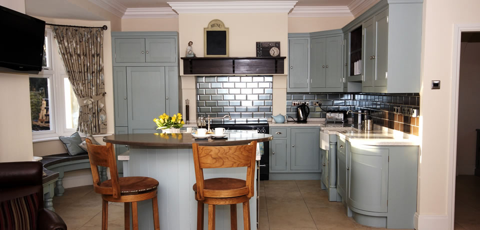 georgian style kitchens